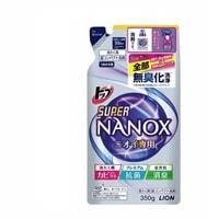 """Lion """"Top Super Nanox"""" Гель для стирки, концентрат для контроля за неприятными запахами, сменная упаковка, 350 гр."""
