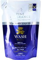 """Nissan """"Fa-Fa Homme"""" Жидкое концентрированное и ароматизированное средство для стирки, с красивым мускатным ароматом чая с бергамотом, сменная упаковка, 360 мл."""