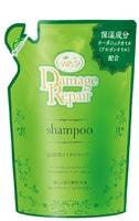 """Nihon """"Wins Damage Repair Shampoo"""" Восстанавливающий шампунь с морской водой, водорослями и коллагеном, мягкая упаковка, 370 мл."""