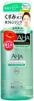 """BCL """"AHA"""" Мицеллярная вода для снятия макияжа и умывания 4-в-1 с фруктовыми кислотами для сухой и чувствительной кожи, 300 мл."""