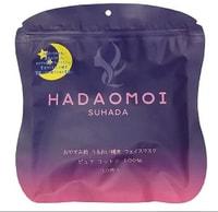 """Akari """"Hadaomoi Suhada"""" Ночная увлажняющая и восстанавливающая маска для лица со стволовыми клетками, 30 шт."""