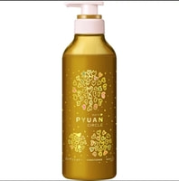 """KAO """"Merit Pyuan Circle"""" Кондиционер для волос с ароматом персика и сливы, 425 мл."""