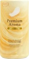 "ST ""Shoushuuriki"" Жидкий дезодорант – ароматизатор для туалета с ароматом бергамота и ванили, 400 мл."