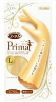 """ST """"Family - Prima"""" Перчатки из винила для бытовых и хозяйственных нужд удлиненные, с антибактериальным эффетом, средней толщины, золотистое шампанское, L."""