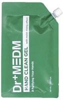 """Dermal """"Dr+Medm"""" Гель очищающий для рук с антибактериальным и увлажняющим эффектом, спиртосодержащий, мягкая упаковка, 50 мл."""