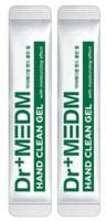 """Dermal """"Dr+Medm"""" Гель очищающий для рук с антибактериальным и увлажняющим эффектом, спиртосодержащий, 30 стиков по 4 мл."""