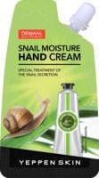 Yeppen Skin Увлажняющий крем для рук с секрецией улитки, гиалуроновой кислотой и коллагеном, аромат свежести, 20 гр.