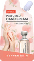 Yeppen Skin Парфюмированный увлажняющий крем для рук с экстрактом персика и гиалуроновой кислотой, аромат сладкого персика, 20 гр.