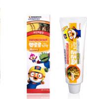 """KM """"Pororo"""" Зубная паста для детей от 3 лет с пониженным содержанием фтора, со вкусом ананаса, 90 гр ."""