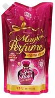 """Mukunghwa """"Aroma Viu Magic Perfume Softner Shiny Flora"""" Кондиционер-ополаскиватель для белья и одежды, с богатым ароматом персика и розы, 1,6 л."""