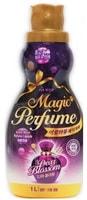 """Mukunghwa """"Aroma Viu Magic Perfume Softner Dear Blossom"""" Кондиционер-ополаскиватель для белья и одежды, с элегантным ароматом белых цветов, 1 л."""