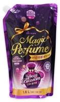 """Mukunghwa """"Aroma Viu Magic Perfume Softner Dear Blossom"""" Кондиционер-ополаскиватель для белья и одежды, с элегантным ароматом белых цветов, 1,6 л."""