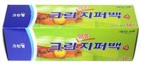 Clean Wrap Плотные полиэтиленовые пакеты на молнии, 25 см * 30 см, 50 шт.