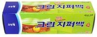 Clean Wrap Плотные полиэтиленовые пакеты на молнии, 30 см * 35 см, 50 шт.