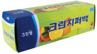 Clean Wrap Плотные полиэтиленовые пакеты на молнии, 18 см * 20 см, 20 шт.