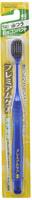Ebisu Широкая 6-ти рядная зубная щетка с головкой алмазной формы, со сверхтонкими концами щетинок № 52, средней жесткости.