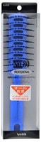 """Vess """"Skelton brush"""" Профессиональная расческа для укладки волос, с антибактериальным эффектом, цвет ручки синий."""