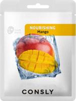 """Consly """"Mango Nourishing Mask Pack"""" Питательная тканевая маска с экстрактом манго, 20 мл."""
