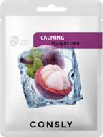 """Consly """"Mangosteen Calming Mask Pack"""" Успокаивающая тканевая маска с экстрактом мангостина, 20 мл."""