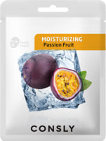 "Consly ""Passion Fruit Moisturizing Mask Pack"" Увлажняющая тканевая маска с экстрактом маракуйи, 20 мл."