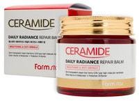 "FarmStay ""Ceramide Daily Radiance Repair Balm"" Укрепляющий крем-бальзам для лица c керамидами, 80 гр."