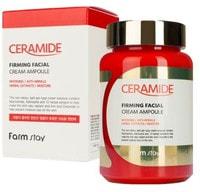 """FarmStay """"Ceramide Firming Facial Cream Ampoule"""" Укрепляющий ампульный крем-гель с керамидами, 250 мл."""