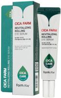 "FarmStay ""Cica Farm Revitalizing Rolling Eye Serum"" Восстанавливающая сыворотка для кожи вокруг глаз с центеллой азиатской, 25 мл."