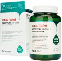 """FarmStay """"Cica Farm Recovery Ampoule"""" Ампульная сыворотка для лица с центеллой азиатской, 250 мл."""
