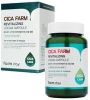 "FarmStay ""Cica Farm Revitalizing Cream Ampoule"" Восстанавливающий ампульный крем с центеллой азиатской, 250 мл."