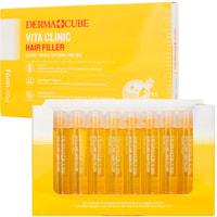 "FarmStay ""Derma cube Vita Clinic Hair Filler"" Витаминизирующий филлер для волос с витаминами, 13 мл * 10шт."