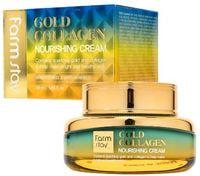 """FarmStay """"Gold Collagen Nourishing Cream"""" Питательный крем с золотом и коллагеном, 55 мл."""