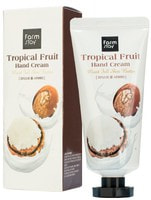 """FarmStay """"Tropical Fruit Hand Cream Moist Full Shea Butter"""" Суперпитательный крем для рук """"Тропические фрукты"""" с маслом ши, 50 мл."""
