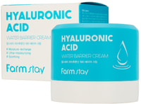 "FarmStay ""Hyaluronic Acid Water Barrier Cream"" Увлажняющий защитный крем с гиалуроновой кислотой, 80 мл."