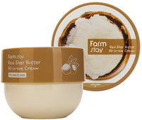 "FarmStay ""Real Shea Butter All-In-One Cream"" Многофункциональный крем с маслом ши, 300 мл."
