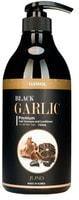 """Juno Cosmetics """"Gawol Black Garlic Premium Hair Shampoo and Conditioner"""" Шампунь-кондиционер против выпадения волос с черным чесноком, 750 мл."""