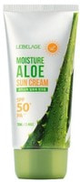 """Lebelage """"Moisture Aloe Sun Cream SPF50+ PA+++"""" Солнцезащитный увлажняющий крем с экстрактом алоэ SPF50+ PA+++, 70 мл."""