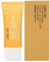 "Lebelage ""High Protection Long Lasting Sun Cream SPF50+PA+++"" Устойчивый солнцезащитный крем с высоким фактором защиты SPF50+PA+++, 30 мл."