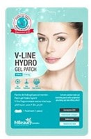 """MBeauty """"V-Line Hydro Gel Patch"""" Подтягивающая маска-бандаж с гидрогелем для линии подбородка и овала лица, 13 гр."""