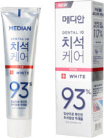 "Median ""Dental IQ White Tooth Paste"" Отбеливающая зубная паста, 120 гр."