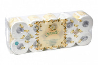 """Gotaiyo """"Gentle"""" Трехслойная туалетная бумага с ароматом «Европы», в индивидуальной упаковке."""