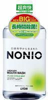 """Lion """"Nonio"""" Ежедневный зубной ополаскиватель с длительной защитой от неприятного запаха, аромат цитрусовых и мяты, 1000 мл."""