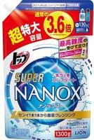 """Lion """"Top Super Nanox"""" Гель для стирки, сменная упаковка с крышкой, 1300 гр."""