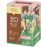 Ssangyong Двухслойные бумажные салфетки «Животные», 180 шт. х 3 уп.