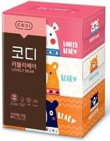 Ssangyong Двухслойные бумажные салфетки «Любимые мишки», 230 шт. х 3 уп.