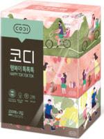 Ssangyong Двухслойные мягкие бумажные салфетки «Счастливая прогулка», 200 шт. х 3 уп.