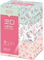 Ssangyong Двухслойные мягкие бумажные салфетки «Розы», 250 шт. х 3 уп.