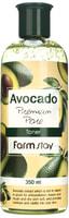 """FarmStay """"Avocado Premium Pore Toner"""" Антивозрастной тонер с экстрактом авокадо, 350 мл."""