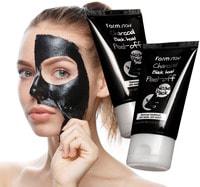 """FarmStay """"Charcoal Black Head Peel-off Nose Pack"""" Маска-пленка с углем для носа, 60 гр."""