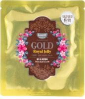 "Koelf ""Gold & Royal Jelly Hydro Gel Mask Pack"" Гидрогелевая маска для лица с коллоидным золотом и пчелиным маточным молочком, 30 гр."