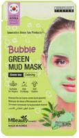 """MBeauty """"Bubble Green Mud Mask"""" Успокаивающая очищающая пузырьковая маска для лица с глиной и экстрактом зеленого чая, 10 гр."""